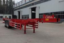 腾运15米34.3吨3轴集装箱运输半挂车(LLT9401TJZ)