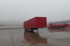 坤博13.5米31.5吨3轴厢式运输半挂车(LKB9400XXYE)