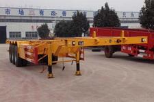 粱锋14.1米34.5吨3轴集装箱运输半挂车(LYL9404TJZ)