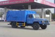 程力威牌CLW5110ZDJT4型压缩式对接垃圾车