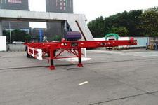通华牌THT9150TJZ型空载集装箱运输半挂车图片