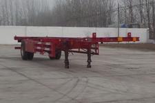 华劲牌YJH9150TJZ型空载集装箱运输半挂车图片