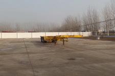 坤博15米34吨3轴集装箱运输半挂车(LKB9400TJZE)