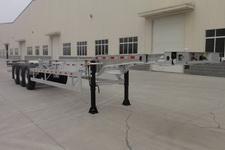 晟通牌CSH9404TJZ型铝合金集装箱运输半挂车图片