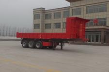 坤博9.5米31.5吨3轴自卸半挂车(LKB9400ZHE)