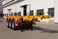 华岳兴8.5米35吨3轴集装箱运输半挂车(FNZ9403TJZ)