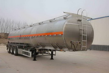 万事达11.9米33.7吨3轴铝合金运油半挂车(SDW9404GYYC)