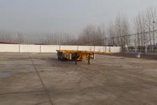 坤博12.4米33.7吨3轴集装箱运输半挂车(LKB9401TJZ)