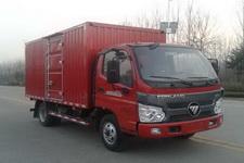 福田瑞沃国四单桥厢式运输车110马力5吨以下(BJ5045XXY-4)