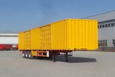 坤博13.5米31.5吨3轴厢式运输半挂车(LKB9402XXY)
