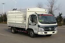 福田瑞沃国四单桥仓栅式运输车110马力5吨以下(BJ5045CCY-3)