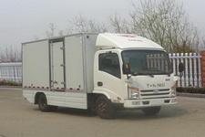 唐骏汽车新能源单桥纯电动厢式运输车41马力5吨以下(ZB5040XXYBEVKDD6)