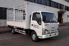 庆铃国四单桥仓栅式运输车98马力5吨以下(QL5040CCY3HARJ)