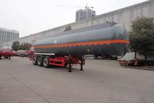 兴扬牌XYZ9404GFW型腐蚀性物品罐式运输半挂车