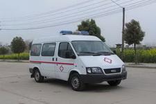 江铃全顺短轴监护型救护车