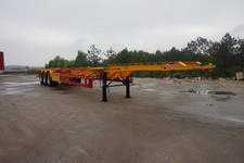 赣安牌BGA9400TJZ型集装箱运输半挂车