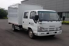 庆铃国四单桥仓栅式运输车98马力5吨以下(QL5040CCY3HWRJ)