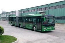 广通牌GTQ6181BVEBT3型纯电动铰接城市客车图片