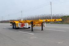 华骏牌ZCZ9350TWYHJF型危险品罐箱骨架运输半挂车图片