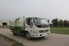 北重电牌BZD5042ZZZ-AB型自装卸式垃圾车图片