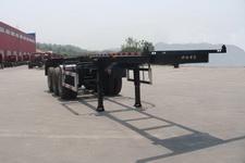 海福龙牌PC9400TWY型危险品罐箱骨架运输半挂车