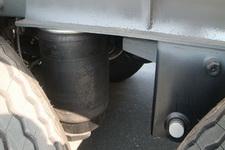 海福龙牌PC9400TWY型危险品罐箱骨架运输半挂车图片