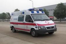 江铃全顺长轴监护型救护车(汽油)13607286060