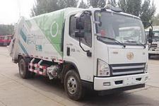 北方重工牌BZ5080ZYSBEV型纯电动压缩式垃圾车图片