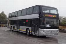 12.4米|24-68座福田混合动力双层城市客车(BJ6128SHEVCA-1)