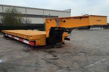 中集16米25.5吨4轴低平板半挂车(ZJV9400TDPQD)