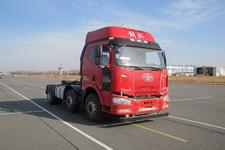 解放前四后四平头危险品运输半挂牵引车355马力(CA4220P63K2T3E5Z)