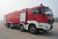 永强奥林宝牌RY5358GXFSG180A型水罐消防车图片