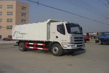 程力威牌CLW5160ZDJL5型压缩式对接垃圾车