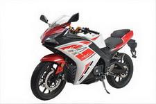 坤豪牌KH350-4A型两轮摩托车图片