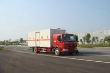 江特牌JDF5160XRQLZ5型易燃气体厢式运输车