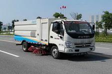福田天然气扫路车
