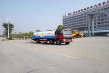 国五欧曼小三轴18吨洒水车价格