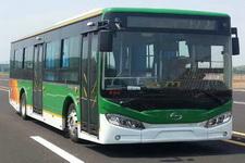 五洲龙牌SWM6115EVG型纯电动城市客车