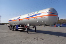 中集13米24.4吨3轴液化气体运输半挂车(NTV9404GYQ)