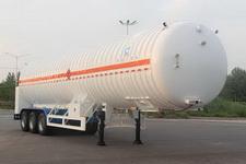 开乐13米20.2吨3轴低温液体运输半挂车(AKL9380GDY)