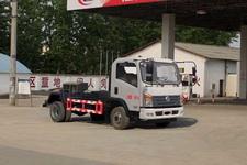 东风轻卡车厢可卸式垃圾车价格