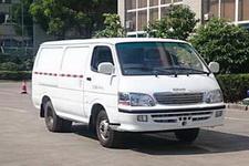 卡威牌JNQ5031XXYBEV1型纯电动厢式运输车