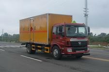 国五欧曼易燃液体厢式运输车