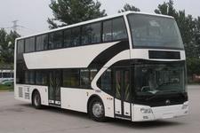 宇通牌ZK6116HNGS3型双层城市客车图片