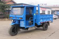 双峰牌7YPJZ-2075D型自卸三轮汽车