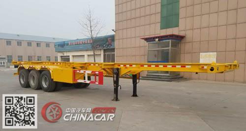凯烁牌KSQ9400TJZG型集装箱运输半挂车图片