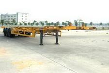 中集14.9米30.5吨3轴集装箱运输半挂车(ZJV9370TJZ)