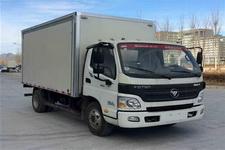 福田欧马可国四单桥厢式运输车143马力5吨以下(BJ5049XXY-FH)