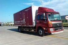 福田欧马可国四单桥厢式运输车170马力5-10吨(BJ5139XXY-F1)