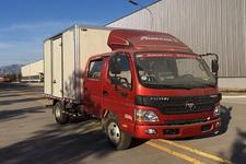 福田欧马可国四单桥厢式运输车118马力5吨以下(BJ5049XXY-F8)